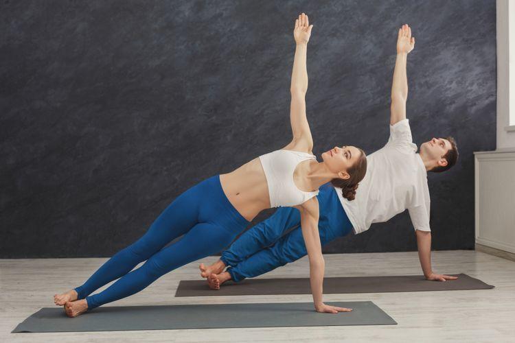 Ilustrasi pilates