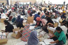 KPU Kabupaten Bogor Mulai Lakukan Pelipatan Kertas Suara Pileg 2019