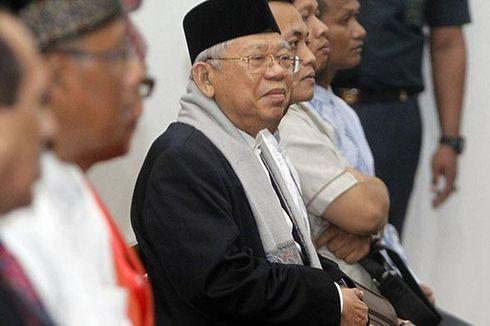 Ma'ruf Bersaksi 7 Jam di Sidang Ahok, Hakim Diminta Pertimbangkan Usia
