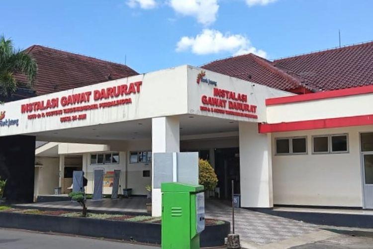 Rumah Sakit Umum Daerah (RSUD) Goeteng Taroenadibrata Purbalingga, Jawa Tengah menutup operasional Instalasi Gawat Darurat (IGD), Selasa (6/7/2021) pukul 09.00 WIB.
