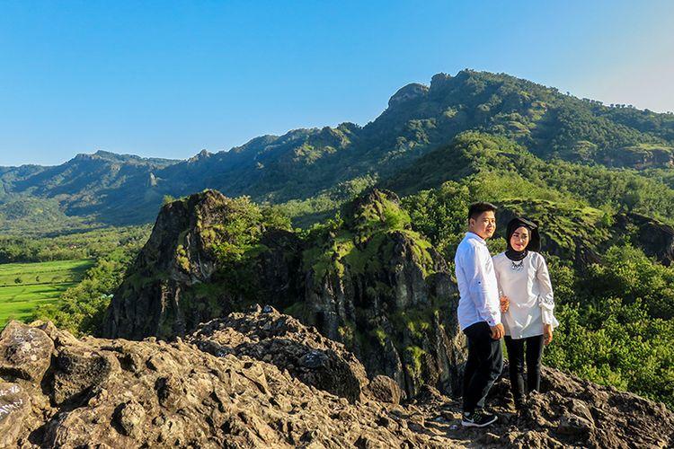 Gunung Sepikul di Kabupaten Sukoharjo, Jawa Tengah.