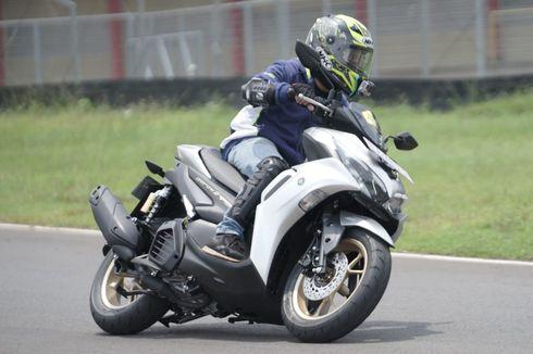 Jajal Keiritan dan Performa Yamaha All New Aerox 155 di Sirkuit