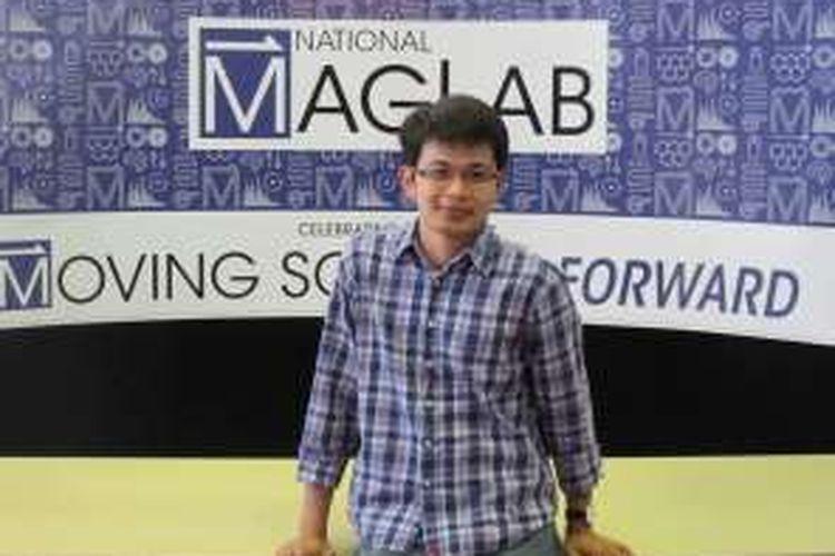 Muhandis Shiddiq, ilmuwan Indonesia yang kini menjadi peneliti post-doktoral di Universitas Teknik Dortmund, Jerman.