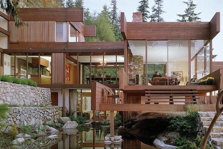 Desain Interior Rumah Panggung Minimalis  10 desain rumah impian halaman all kompas com