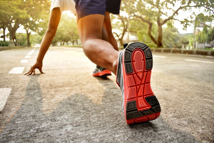 ilustrasi olahraga sebagai bentuk pola hidup sehat