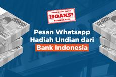VIDEO Cek Fakta: Hoaks! Pesan WhatsApp Hadiah Undian dari BI
