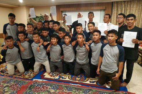 Vamos Indonesia Kirim 19 Pesepak Bola Muda ke Spanyol