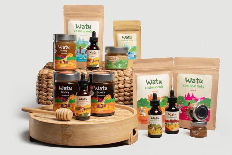 Berbagai produk Talasi, brand produk dengan konsep berkelanjutan bagi alam maupun manusia.