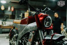 Ini Motor Custom Yamaha XSR 155 Karya Builder Bali