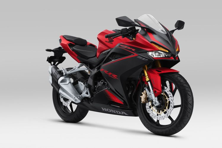 Honda CBR250RR warna Bravery Red Black