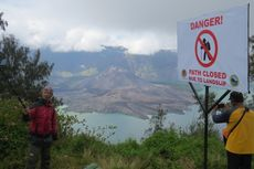 Jalur Dibuka, Pendaki Gunung Rinjani Didominasi Turis Asing