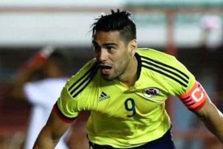 Penyerang asal Kolombia, Radamel Falcao.