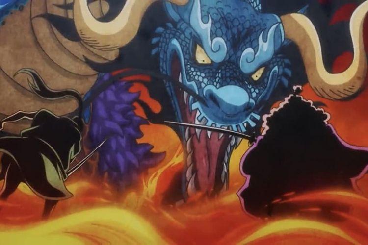 Akhirnya One Piece Mengungkap Nama Devil Fruit untuk Kaido