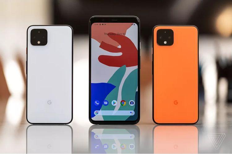Ponsel Google Pixel 4 dan Pixel 4 XL