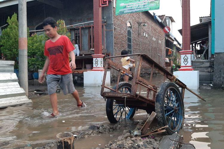 Rob di Kampung Tambaklorok Semarang, Jumat (21/5/2021)