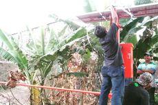 Antisipasi Banjir, EWS Dipasang di 2 Titik Bantaran Kali Lamong Gresik