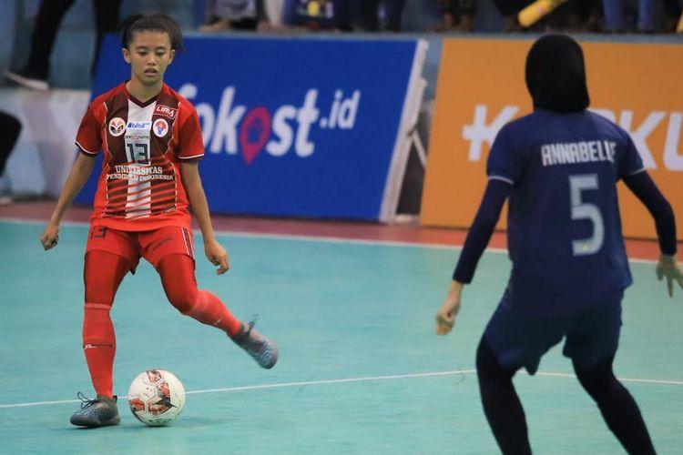 Futsal Liga Mahasiswa West Java Conference (WJC) kirim tim putri Universitas Pendidikan Indonesia (UPI) Bandung dan Universitas Padjadjaran (Unpad) Bandung ke Liga Mahasiswa Futsal Nationals Seasons 7 di Sport Center UIN Maulana Malik Ibrahim, Malang, Jawa Timur, 27 November-6 Desember 2019.