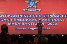 Di Hadapan Jokowi, Ketum SOKSI Dukung Pasal Penghinaan Presiden