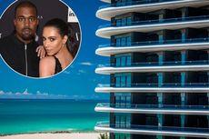 Kejutkan Kim Kardashian, Kanye West Beli Kondominium Rp 202 Miliar