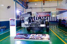 Hasil Kerja Sama Hino dan Adiputro pada Sasis R260 Air Suspension
