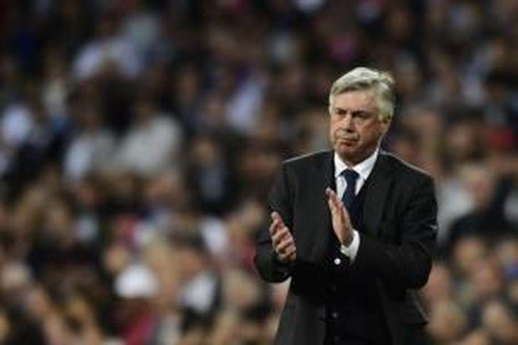 Mantan pelatih Real Madrid, Carlo Ancelotti.