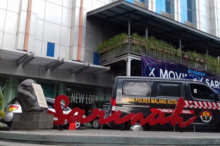Mal Sarinah Kota Malang, Jumat (16/11/2018). Gedung berdiri di lokasi yang sarat sejarah.