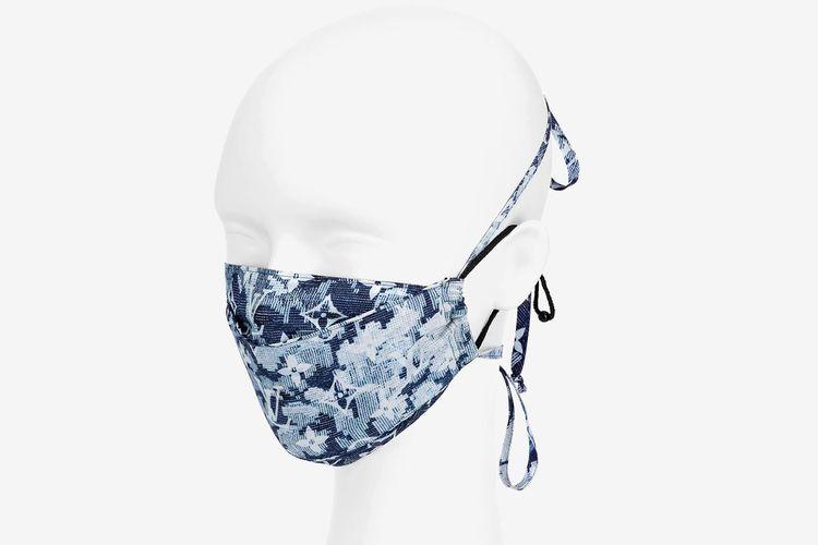 Louis Vuitton Monogram Tapestry Bandana and Mask