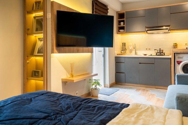 Desain interior apartemen mungil karya Fiano