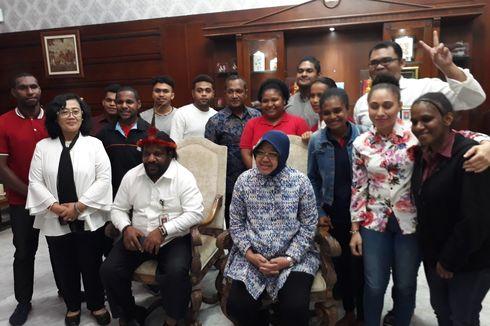 Ketua Adat Papua: Risma dan Khofifah Layak Disebut Mama Papua