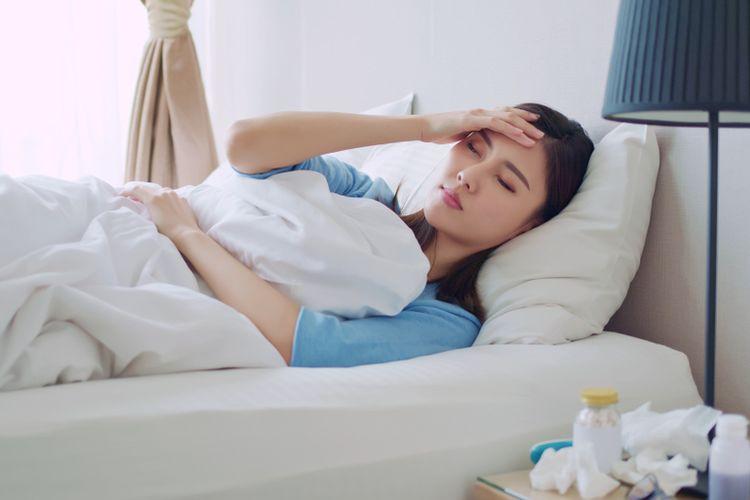 Ilustrasi sakit kepala