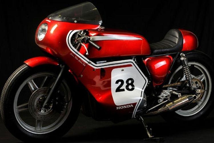 CB750 Racing, Dari Tamiya Menjadi Betulan