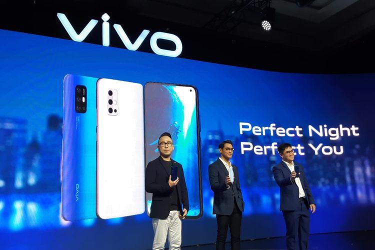 Peluncuran Vivo V19 di Jakarta, Selasa (10/3/2020).