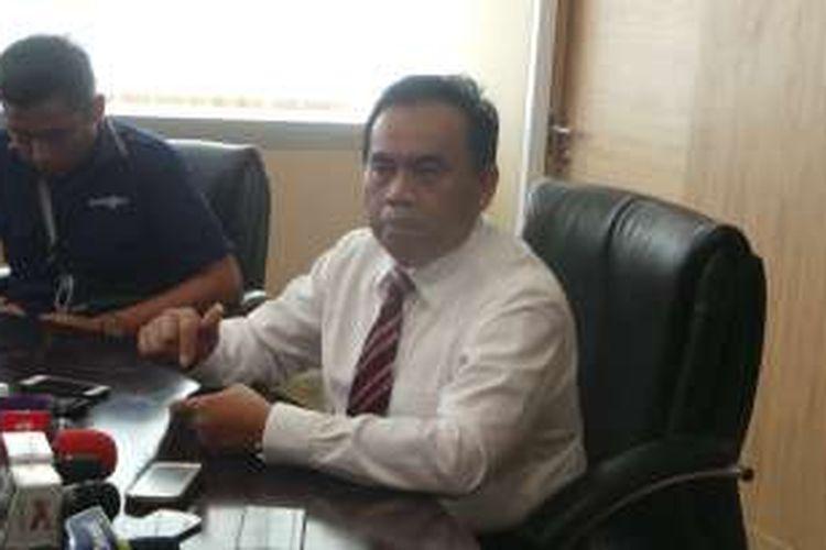 Sekretaris Daerah (Sekda) DKI Jakarta Saefullah saat ditemui wartawan di ruang kerjanya di Balai Kota, Selasa (3/5/2016).