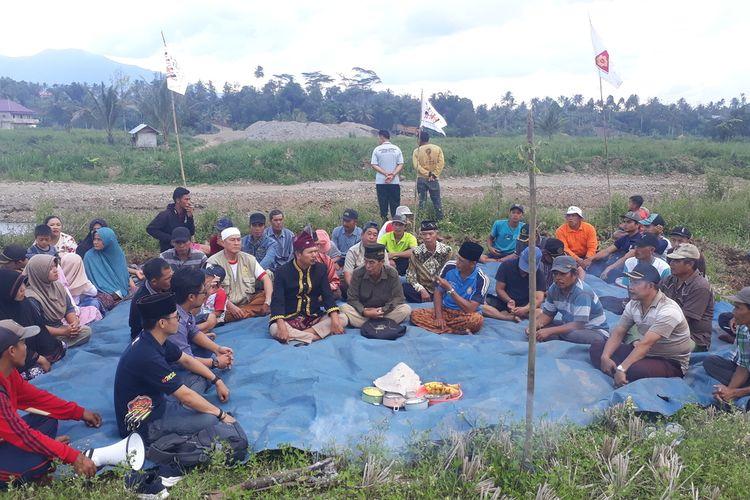 Masyarakat Adat Suku Rejang, Kutei Lubuk Kembang, Bengkulu gelar kedurei menolak wabah covid 19 dan tambang