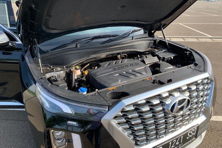 Tampilan ruang mesin Hyundai Palisade