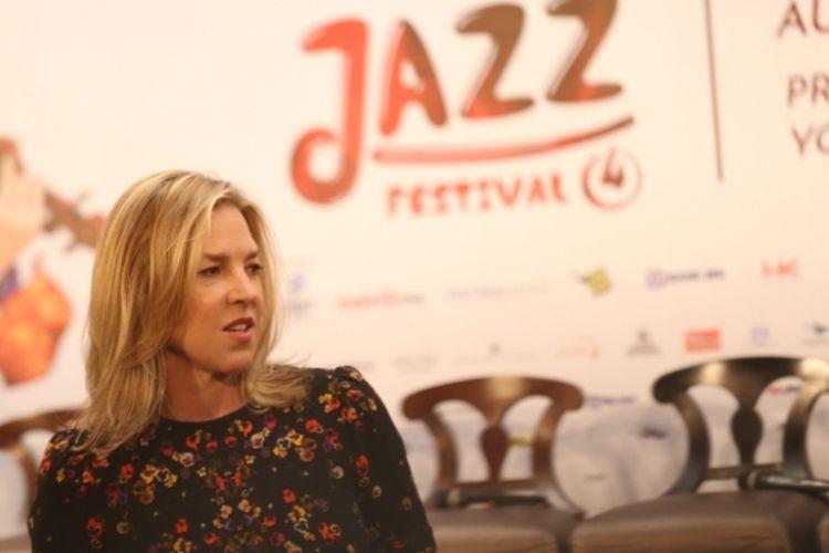 Musisi jazz dunia Diana Krall akan tampil ekslusif di Prambanan Jazz Festival 2018 di Yogyakarta, Sabtu (18/8/2018) malam,