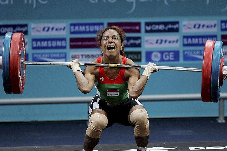 Salah satu penampilan <a href='https://manado.tribunnews.com/tag/raema-lisa-rumbewas' title='RaemaLisaRumbewas'>RaemaLisaRumbewas</a> di Asian Games 2006, di Doha, Qatar.