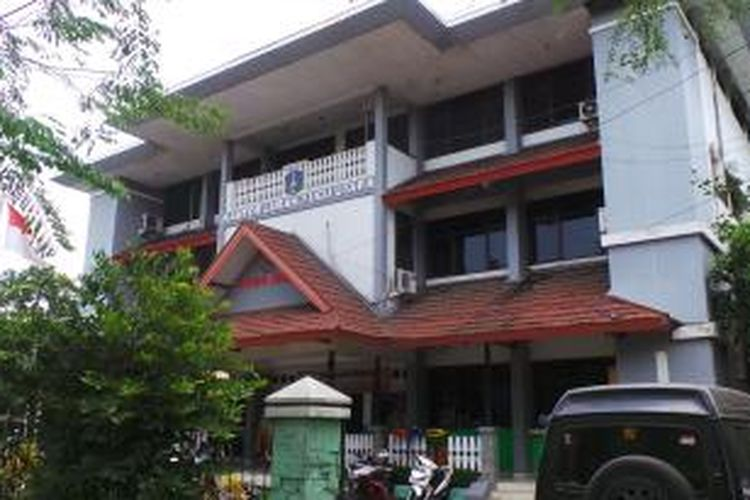 Kantor Lurah Tugu Utara, di Koja, Jakarta Utara. Jumat (19/9/2014).