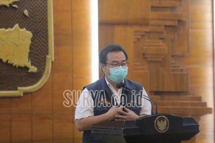 Ketua Rumpun Kuratif Gugus Tugas Percepatan Penanganan Covid-19 Jawa Timur Joni Wahyuhadi.