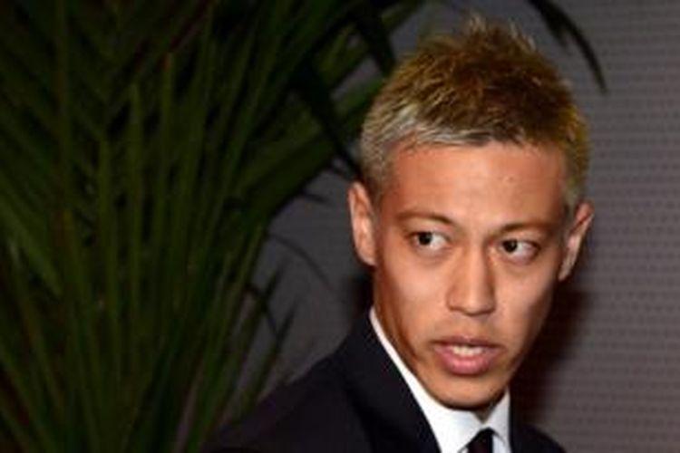 Pemain AC Milan asal Jepang, Keisuke Honda.
