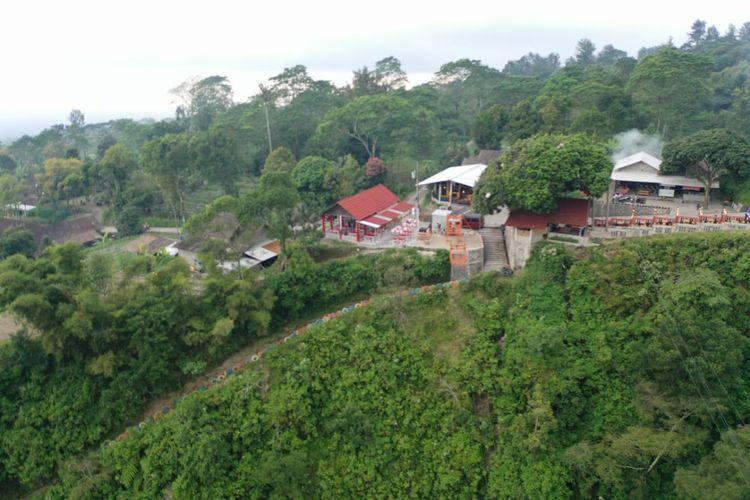 Pemandangan indah di Dusun Girpasang, Desa Tegalmulyo, Kabupaten Klaten. Dusun ini kini menjadi destinasi wisata baru yang digemari wisatawan dari berbagai daerah.