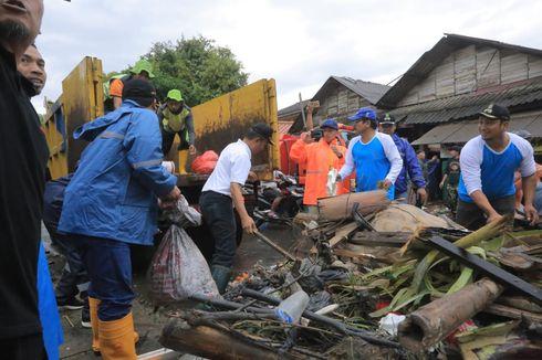 Banjir Surut, Pemkot Tangerang Turunkan Seluruh Personel untuk Kerja Bakti Massal
