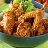Resep Sayap Ayam Goreng Lada Hitam, Bisa Tanpa Paprika
