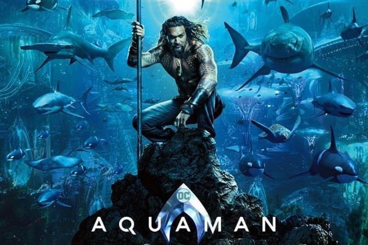 Poster film Aquaman.