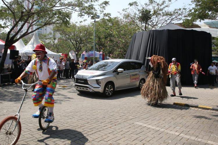 Xpander Tons of Real Happiness di Summarecon, Bekasi.
