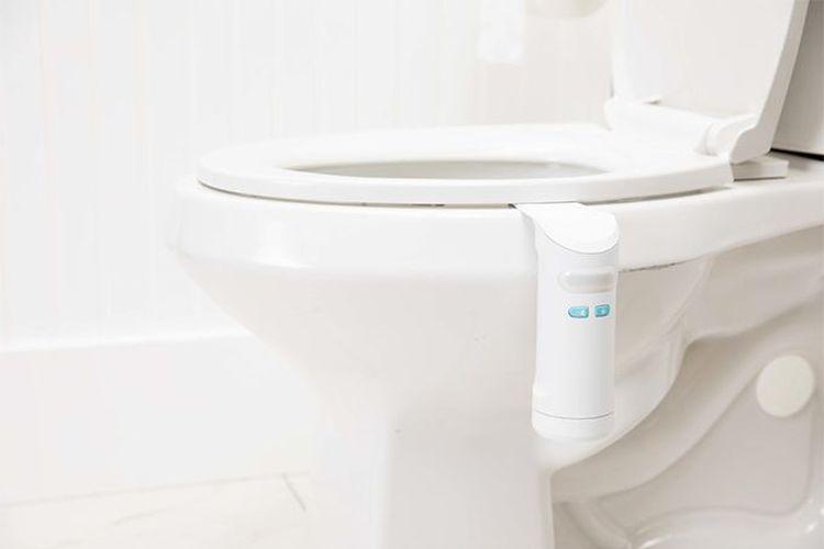 Toilet pengharum ruangan otomatis.