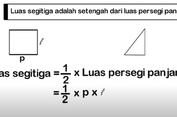 Luas Segitiga, Jawaban Soal TVRI 25 September SD Kelas 4-6