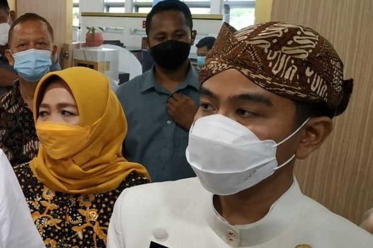 Wali Kota Solo Gibran Rakabuming Raka di Solo, Jawa Tengah, Kamis (27/5/2021).