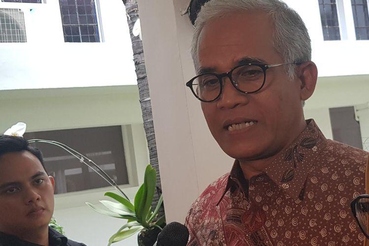 Deputi Koordinasi Bidang Pendidikan dan Agama Kemenko PMK Agus Sartono saat ditemui di Kantor Kemenko PMK, Jalan Medan Merdeka Barat, Jakarta Pusat, Selasa (19/11/2019).