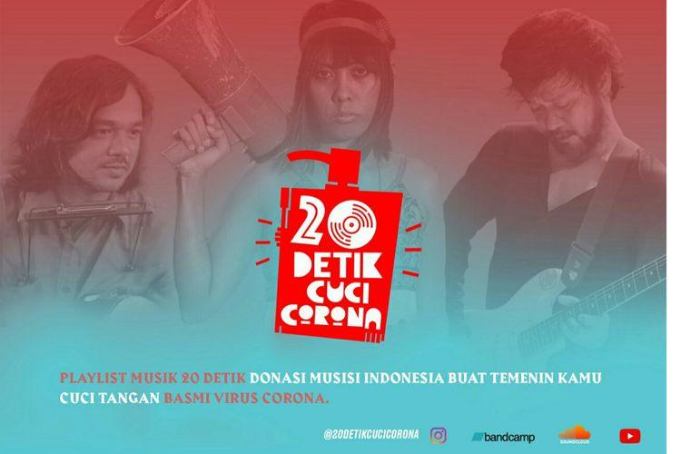 Gerakan #20DetikCuciCorona ajak musisi buat lagu sosialiasi masyarakat cuci tangan, Kamis (3/12/2020).